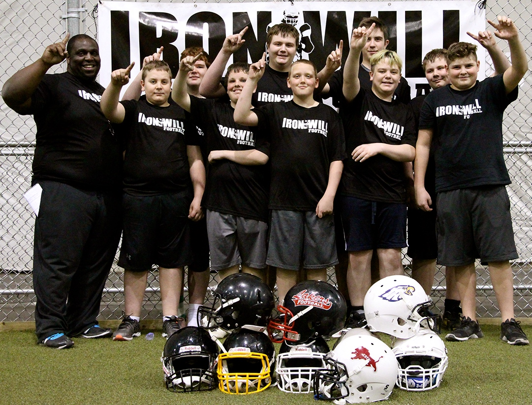 IRONWILL FOOTBALL Performance Trench Camp 2016
