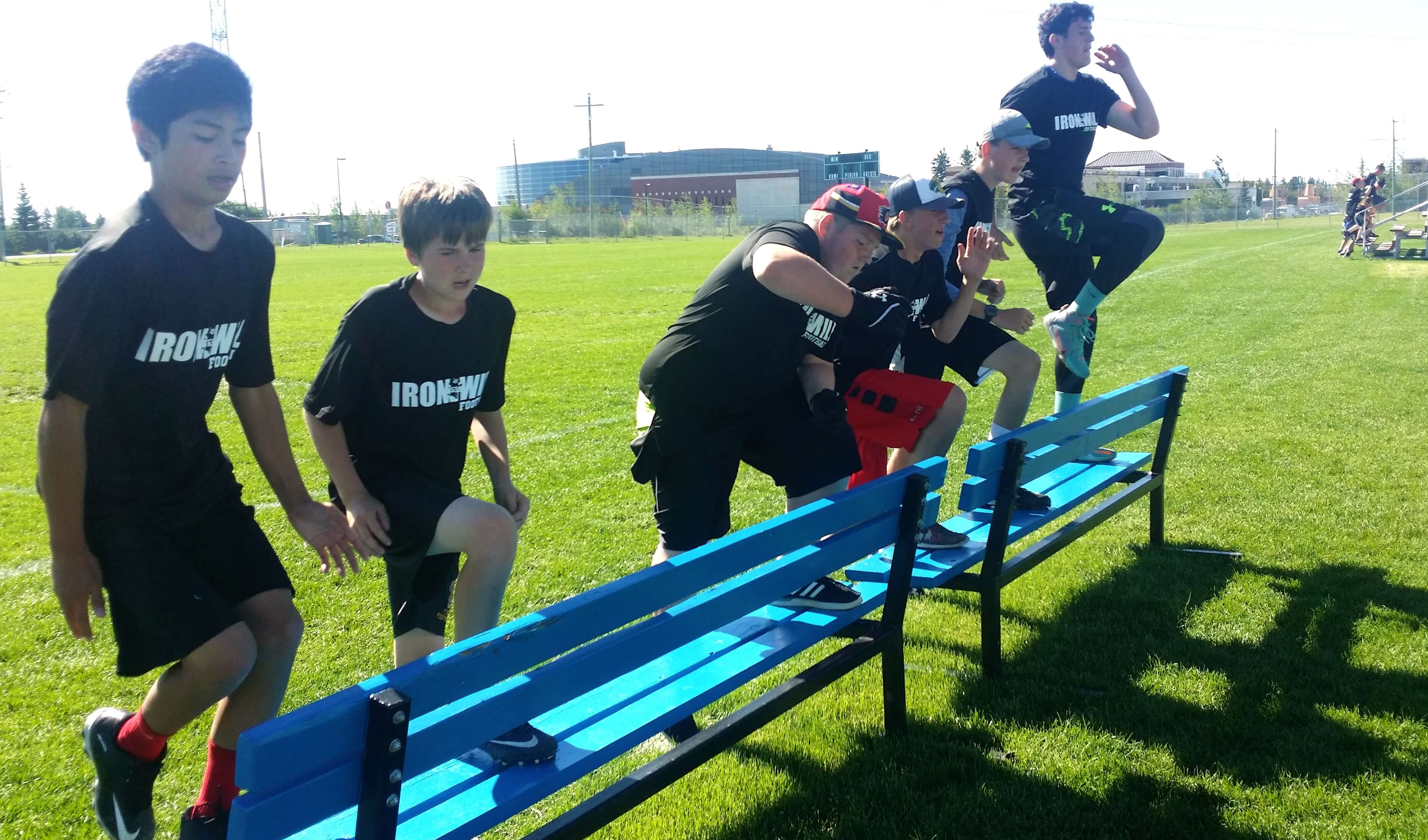 IRONWILL FOOTBALL Summer Camp 2016 Review
