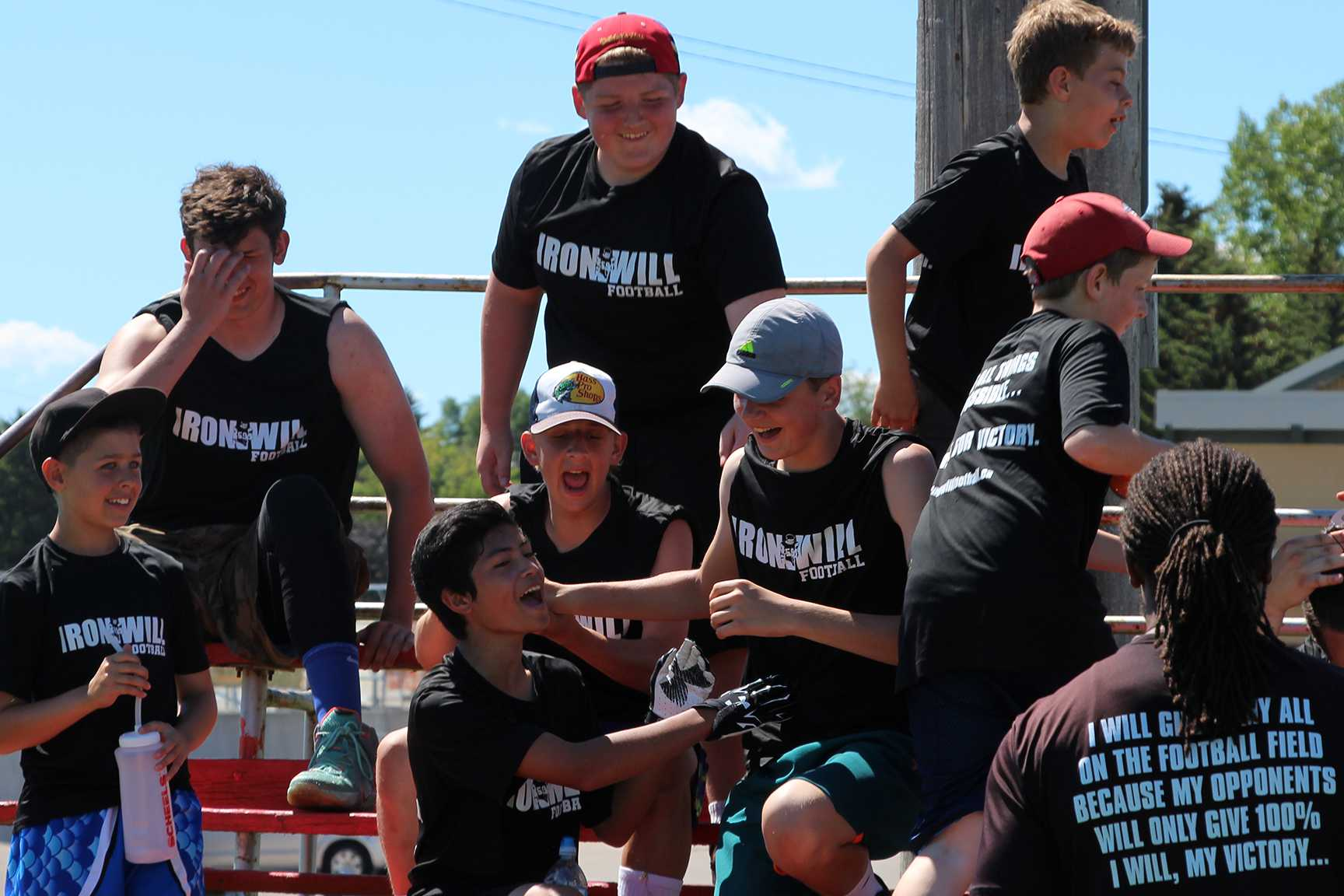 Memories from IRONWILL FOOTBALL Summer Camp!