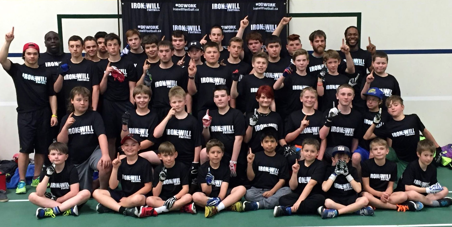 IRONWILL FOOTBALL Performance Camp Red Deer 2016 was a success!
